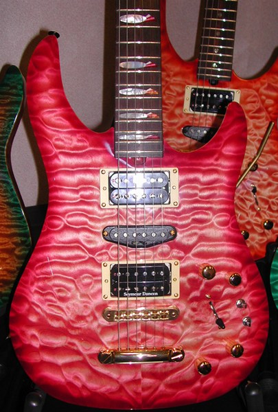 Brian Moore Guitars Custom Colors Synergy Guitar Boutique