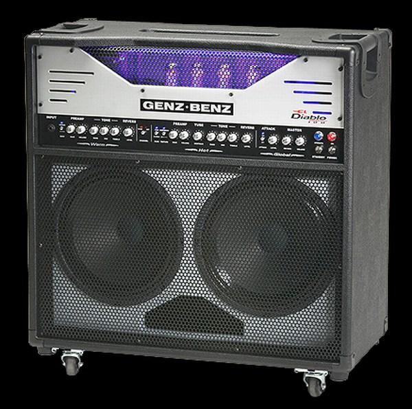 Genz Benz El Diablo 100 Amplifiers, Pre Amps and Combos - Synergy ...
