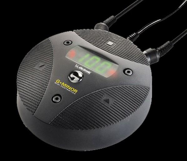 tc electronics g minor midi controller pedal for guitar synergy guitars. Black Bedroom Furniture Sets. Home Design Ideas